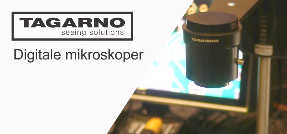 Tagarno digitale mikroskoper