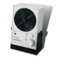 Ioniseringsvifte med varme og emitterrengjøring