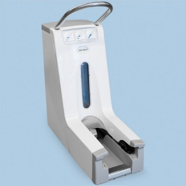 Dispenser for ESD sko overtrekk