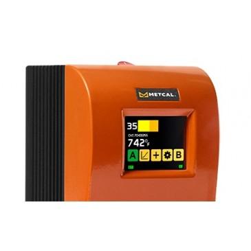 Metcal CV-5200 systemet har en stor berøringsskjerm i farger!