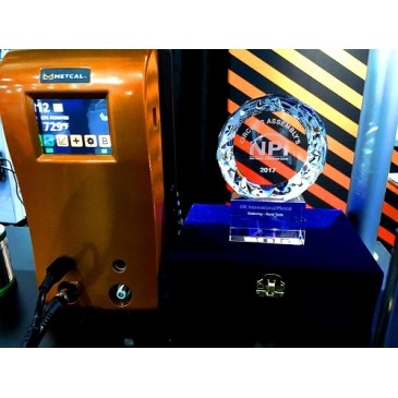 "Mecal CV-5200 systemet ble tildelt ""2017 NPI Award"" i kategorien lodding på APEX EXPO i San Diego i februar 2017."