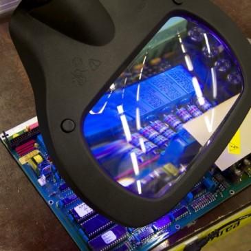Wave LED UV lupelampe