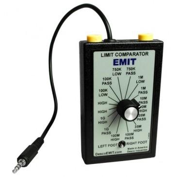 ESD limit comparator