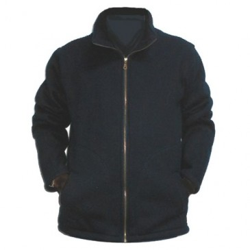 Marineblå ESD fleece jakke