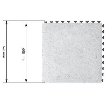 ESD gulvfliser 608 x 608 mm