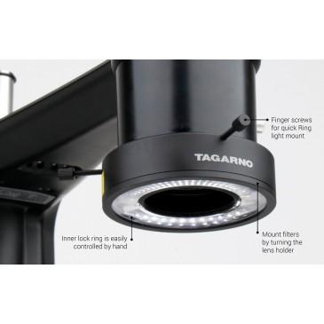 Tagarno ringlys med muligheter til å sette på filter uten bruk av verktøy