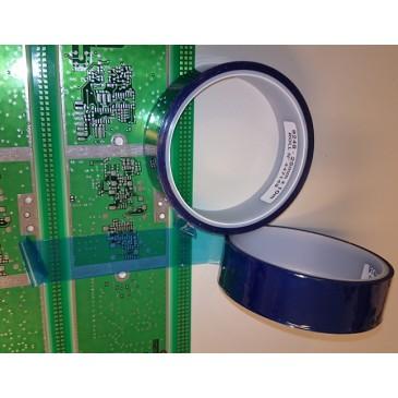 Blå transparent polyestertape